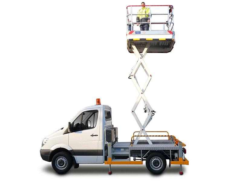 Scissor Lifts, Hoisting Platforms, Lift trucks and Catering