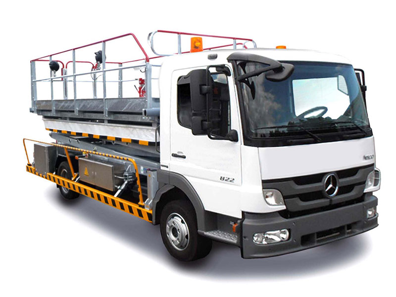 Scissor Lifts, Hoisting Platforms, Lift trucks and Catering vehicles