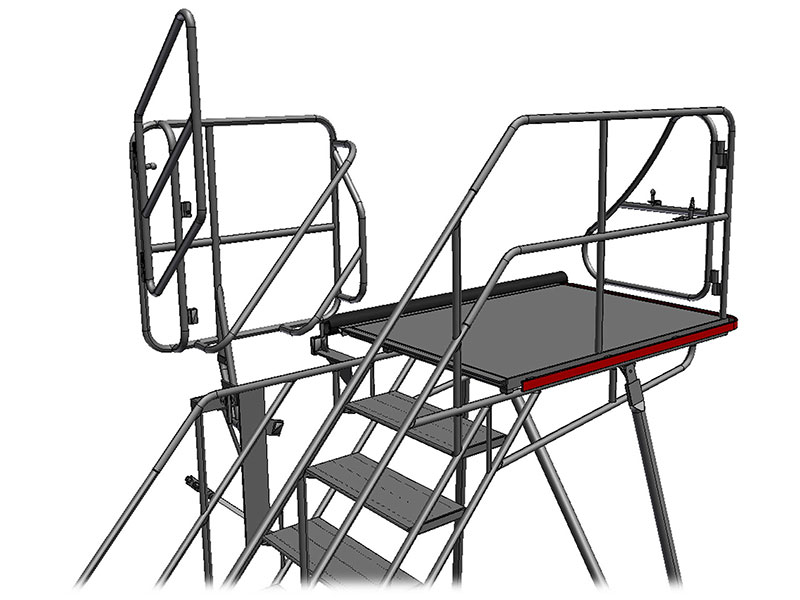 Picture: Cargo compartment access stair WTR-xxxxCargo
