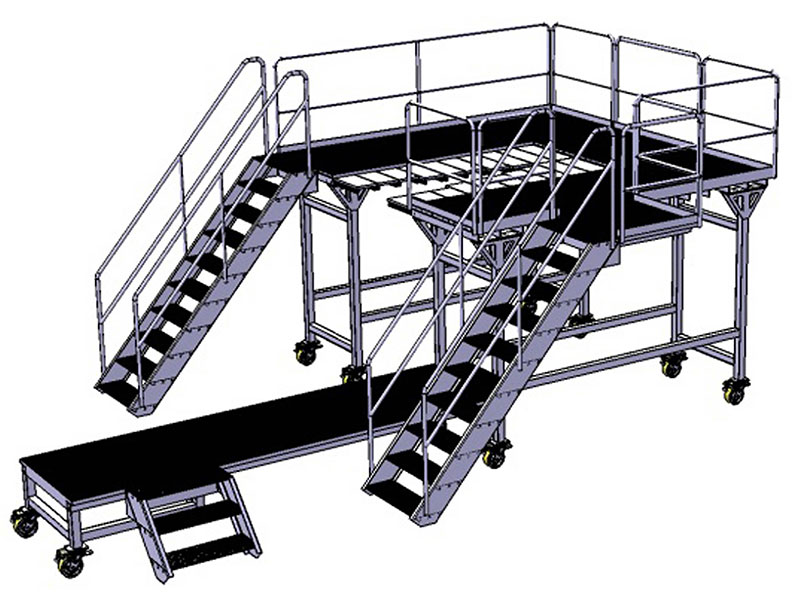 Picture: Special stairs/Maintenance platforms