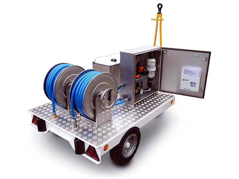 Picture: Water disinfection cart WDC